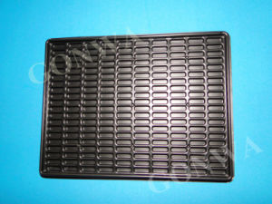 ESD High Class Quality Black Blister Cases Blister Tray