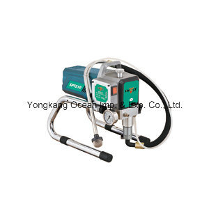 Electric Piston Pump High Pressure Durable Airless Paint Sprayer Spt210 pictures & photos