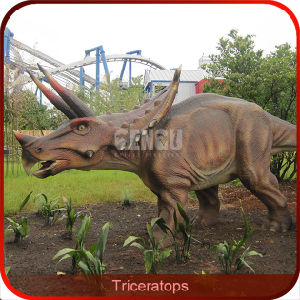 High Quality Handmade Animatronic Triceratops Dinosaur pictures & photos