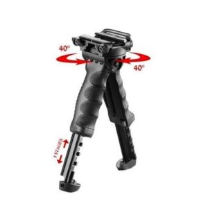 Tactical Rail Mount Foregrip Foldable Bipod
