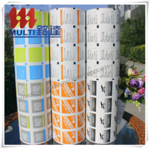 Aluminum Foil Paper for OEM Customized Alcohol Prep Pad pictures & photos