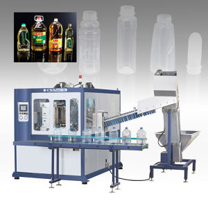 CE Approved with Ax Down Blow Series Automatic Blow Molding Machine (CSD-AX1-5L) pictures & photos