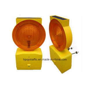 Solar Safety Flashing LED Warning Light for Road Barricade Pjwl203