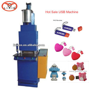 Micro PVC Injection Moulding Machine (LX-P008) pictures & photos