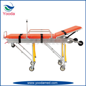 Aluminum Alloy Automatic Loading Ambulance Stretcher pictures & photos