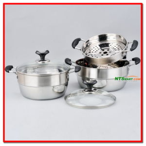 Stainless Steel Pot (N000006891, 6892, 6893) pictures & photos