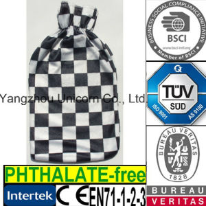 CE Fleece Checks Hot Water Bottle Cover
