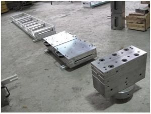Panel Extrusion Tooling, Plastics PVC Extrusion Mold, Decorative Gusset Plate Extrusion Tooling