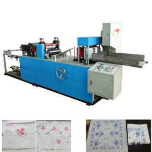 Full Automatic High Speed Printing Embossing Paper Napkins Machine pictures & photos