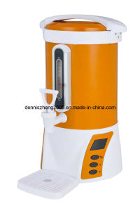Winpico 5-Quart Electric Water Boiler and Warmer, Stainless Steel Interior, Orange