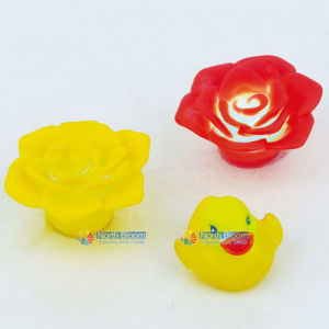 Colorful Flower /Chick Shaped Decorative LED Candle