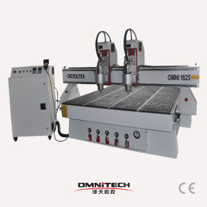 Mutil Spindle CNC Router 1325 with Double Spindle