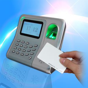 Electronic Time Recorder of Fingerprint Reader +RFID pictures & photos