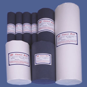 100%Cotton Absorbent Medical Surgical Hydrophilic Gauze Roll