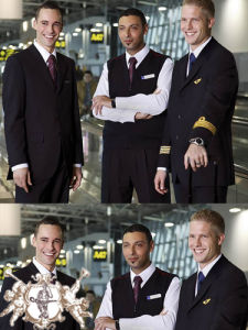 Airlines Uniform with High Quality (UFM130013) pictures & photos