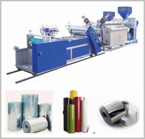Fully Automatic Plastic Sheet Extruder Machine Manufacturing PS/PP Film pictures & photos