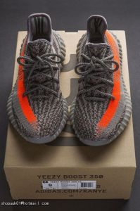 half off df09f af6c0 Running Shoes Men′s Yeezy 350 Boost V2 550 Grey Orange Bb1826