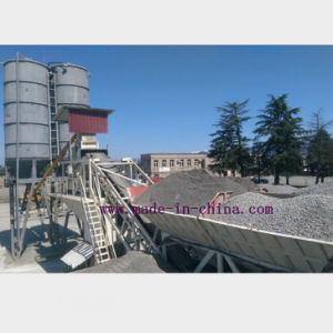 75m3/H Full Automatic Mobile Concrete Batching Plant