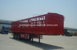 13 Meters Three Axle 50ton Stake Semi Trailer pictures & photos