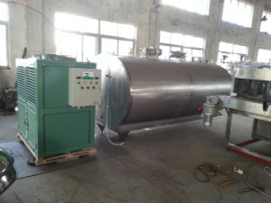 Food Sanitary Stainless Steel 8000L Milk Chilling Tank pictures & photos