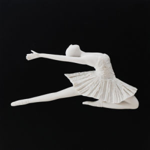 Sandstone Square Ballet Wall-Mounted Decoration for Home/Hotel