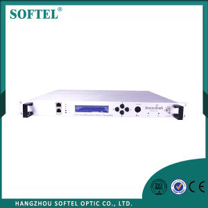 FTTH Optical Cable TV Externally Modulated Transmitter with AGC pictures & photos