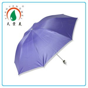 Small Manual Open Promotional Folding Umbrella in Custom Color