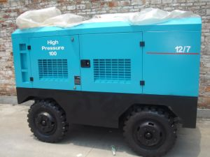 Portable Diesel Engine Driven Screw Air Compressor 212-1130cfm pictures & photos