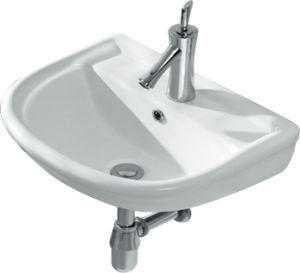 Chaozhou Wall-Hung Bathroom Wash Basin CE-Z3307 pictures & photos