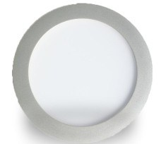 12W LED Panel Light (MR-PL-R165) Silver Housing