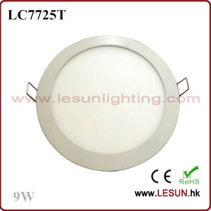 Brightness 9W Round LED Panel Lights/Flat Light LC7725t pictures & photos