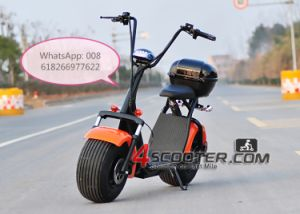 2017 New Prodcuts Adult Electric Motorcycle Citycoco Woqu 2 Seat Citycoco E Scooter 5000W pictures & photos