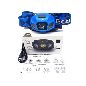 Portable Headlamp with Rechargeable Battery, Applied to Climbing, Camping, Hiking, Fishing pictures & photos