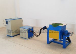 IGBT Small Induction Furnace for Iron Melting pictures & photos