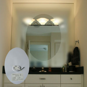 China Ene Brand Pet Material Self Adhesive Bathroom Mirror Defogger