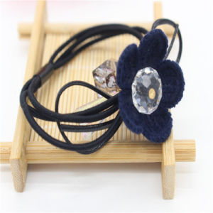 2017 New Products Diamond with Flower Hair Band pictures & photos