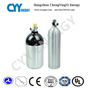 1L Portable Medical Aluminum Breathing Air Cylinder pictures & photos