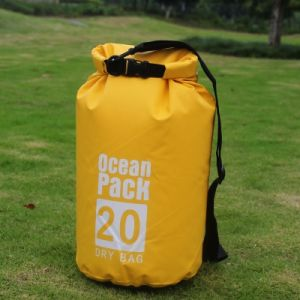 Custom Logo Waterproof Ocean Pack Outdoor PVC Small Swimming Tarpaulin 100L Drybag 20L 30L Dry Bag Waterproof pictures & photos