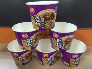 Aluminum Foil Die Cut Lids for Instant Noodles Cup pictures & photos