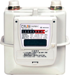 IC Card Prepaid Gas Meter PLC / RF / GPRS Communication pictures & photos