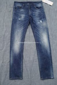 9.3oz High Rise Jeans for Men (HS-28601T)