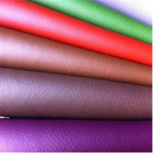 Newest PU Synthetic Leather for Sofa Hw-957 pictures & photos