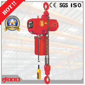 M4/1am, Ce, ISO Certified, 3 Ton Electric Chain Hoist with Side Magnetic Brake pictures & photos