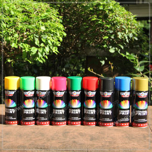 Non Toxic Colorful Aerosol Spray Paint for Metal pictures & photos