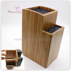 Hotsell Bamboo Kitchen Knife Holder Knife Stand 15.5*11*23 pictures & photos