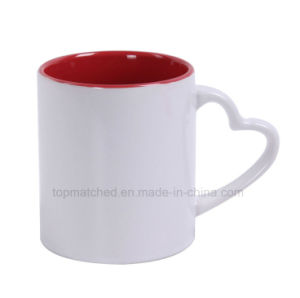 11oz DIY Thermal Transfer Coated Ceramic Coffee White Sublimation Mug pictures & photos