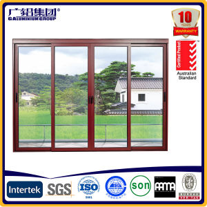 Big Size Aluminium Lift and Sliding Door with Double Glass and Thermal Break Aluminium Frames pictures & photos