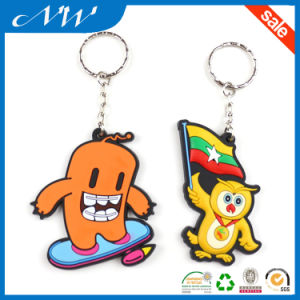 Hot Custom Fashionable 3D Soft PVC Keychain