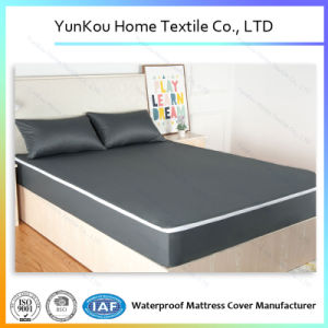 Black Knitting Fabric Mattress Encasement with Zipper Wholesale pictures & photos