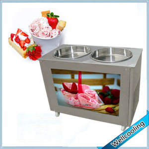 2017 Hot Sell Stainless Steel Roll Ice Cream Cold Plate Machine pictures & photos